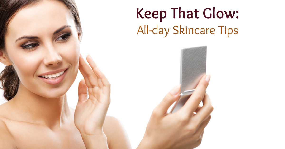 Keep that Glow: Skincare tips cover image